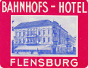 FLENSBURG / BAHNHOFS HOTEL    ///// - Hotel Labels