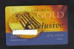 MALTA  - HOTEL GOLD CLUB CARD  (  CORINTIA HOTEL  ) ST'JULIANS MALTA - 2006 - Hotel Keycards