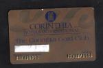 MALTA  - HOTEL GOLD CLUB CARD  (  CORINTIA HOTEL  ) ST'JULIANS MALTA - 1999 - Hotel Keycards