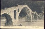 "Albania  URRA VEZERIT N' UDHE T' PEZRENDIT   Old Postcard   "" MARUBBI """