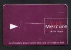 GREAT BRITAIN - HOTEL KEY CARD  (  HOTEL MERCURE   )  - - Hotel Keycards