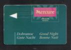 AUSTRIA - HOTEL KEY CARD  (  HOTEL MERCURE   )  - - Hotel Keycards