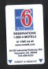 U.S.A. - HOTEL KEY CARD  (  6 ACCOR  HOTELS )  CAL. - Hotelkarten