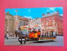Horse Tram  Douglas Isle Of Man  Early Chrome ==   = Ref 555 - Isle Of Man