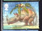 Great Britain 2002 1 St Rhinoceros Issue #2009 - 1952-.... (Elizabeth II)