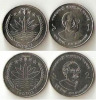 Bangladesh 2010 New Limited Time Issue 1 Taka & 2 Taka Coin UNC - Bangladesch