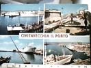 CIVITAVECCHIA  PORTO VEDUTE NAVE  SHIP CARGO ANTONELLA FERRY  VB1974 DT16267 - Civitavecchia