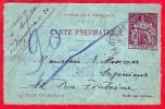 Carte Pneumatique Télégraphe De 1905 / Marcophilie : 90 ! - Pneumatiques