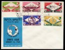 Ethiopia FDC Sports 1962 - Äthiopien
