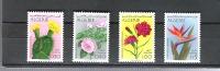 Algerien ** , 606 - 09 , Blumen - Algerije (1962-...)