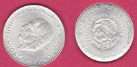 Messico  5 Pesos Hidalgo 1957 - Mexico