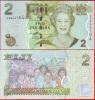 Fiji, Banknote / 2 Dollars 2007 A, UNC Crisp - Fidji
