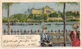 AK UNGARN HUNGARY BUDAPEST LITOGRAFIA  OLD POSTCARD 1899 - Österreich