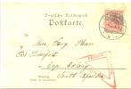 Postkarte Nach FORT BEAUFORT Cap Colony South Afrika 1902 Mit Zensur - Deutschland