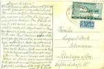 Französische Zone Bahnpost Freiburg - Basel Zug 1541 Auf 100 Jahre Deutsche Briefmarke - Französische Zone