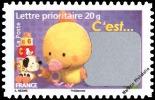 YT4184 Année:2008 Timbre De Naissance C´est Une Fille - Francia