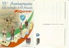 Brigata Paracadutisti Folgore: 55° Anniversario Battaglia El Alamein. Livorno 18/10/1997. Cartolina Commemorativa. - Reggimenti