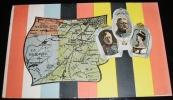 VAALS   -  VIERLANDENPUNT  MET STEMPEL : NEUTRAAL GEBIED (MORESNET) DUISLAND - NEDERLAND EN BELGIE - Vaals