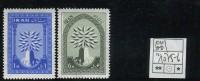 Iran - Michel 1075-1076 - ** Mnh Neuf Postfris - (40 Or 55 Cents??) - Iran