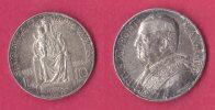 Vaticano 10 Lire 1933 -34 - Vatican