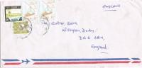 10664. Carta Aerea SUDAN A Inglaterra - Sudan (1954-...)