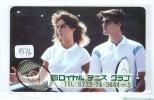 Télécarte Japon * Sport * TENNIS (1576) Japan Phonecard *  TELEFONKARTE * TELEFOONKAART * - Sport