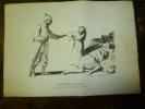 Gravure Ou Estampe  1915 Signée  Hermann P.? Propagande  Atrocités Allemandes...mais, Vous Savez, Ce Sont Les Anglais .. - Prints & Engravings