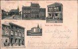 ! Schöne Alte Ansichtskarte Gruss Aus Würselen, Straßenbahn, Kaiserliches Postamt, 1904 Aachen Gelaufen, Weiterleitung - Würselen