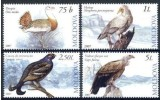 Moldavie Moldova 2007 Yvertn° 514-17 *** MNH Cote 9,50 Euro Faune Oiseaux Vogels Birds - Moldavie
