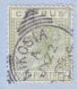Cyprus 23a  Die A  (o)  Wmk. CA - Cyprus (...-1960)