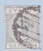 Cyprus 24  Die A  (o)  Wmk. CA - Cyprus (...-1960)