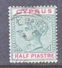 Cyprus 28  (o)  Wmk. CA - Cyprus (...-1960)