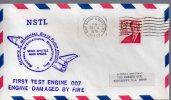★ US - NSTL - FIRST TEST ENGINE 007- ENGINE DAMAGE BY FIRE (6531) - Etats-Unis