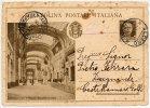 OPERE DEL REGIME FASCISTA NUOVA STAZIONE DI MILANO GALLERIA DI TESTA 1931 - Interi Postali