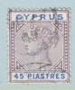 Cyprus 37  (o)  Wmk. CA - Cyprus (...-1960)