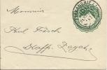 1897 Ganzsache Grün Von Alexandria Sehr Schön Gestempelt - Égypte