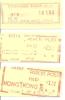 Freistempel Parcel Post Paid  3 Stück - Hong Kong (1997-...)