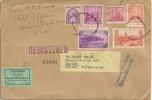 Registered Letter To Switzerland Customs - Cartas