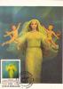 GENESIS, PAINTING BY SABIN BALASA, 1982, CM. MAXI CARD CARTES MAXIMUM, ROMANIA - Kunst