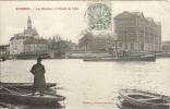 91 - CORBEIL - Les  Moulins Et L'Hôtel De Ville - Corbeil Essonnes