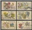 CECOSLOVACCHIA 1971 Pharmacy Congress  Mi. 2023/28 - Yv. 1870/75 Serie Cpl. 6v. Usati - Tschechoslowakei/CSSR