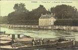 """91 - CORBEIL -  """"Castel Joli"""" - Propriété Valdeck-Rousseau - Carte Toilée - Corbeil Essonnes"""