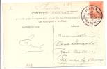 """Augustus 1914 . PK PZ (B) """"ANTWERPEN 14.VIII.1914""""  Naar CAPELLEN - België"""