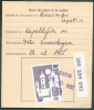 Document Avec  Timbre Oblitéré LEDE 24-II-1992 Vers Erondegem - 7733 - Chemins De Fer