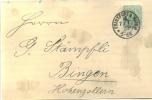 Firmenkarte ROBERT WEISS FRANKFURT A. M. Taunusstr. 6  1887 - Deutschland