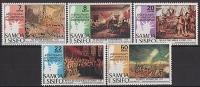 SAMOA 1976 - Bicent De L'independence Des USA - 5v Neufs // Mnh - Samoa