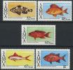 SAMOA 1986 - Faune, Poissons. - 5v Neufs // Mnh - Samoa