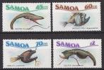 SAMOA 1987 - Faune Marine, Poissons. - 4v Neufs // Mnh - Samoa