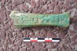 Fragment D´Oushebti Avec Hyéroglyphes - Arqueología