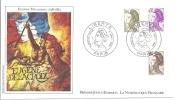 1 Er Jour Liberté 4/1/82 - FDC